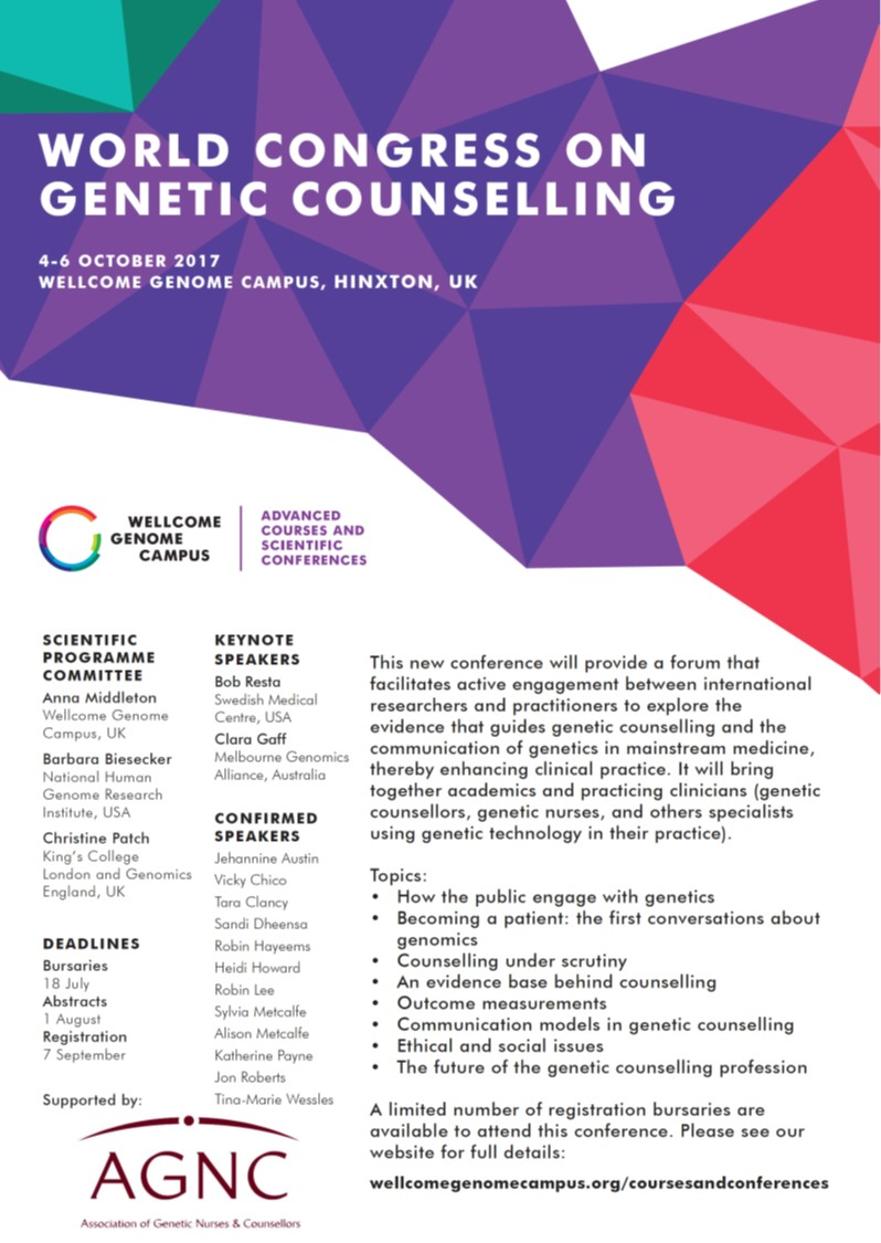 World Congress on Genetic Counselling